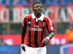 Sulley Muntari, 31 anni, ai tempi del Milan. Forte