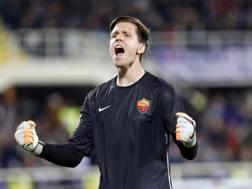 Wojciech Szczesny, 26 anni, portiere polacco dell'Arsenal. Reuters