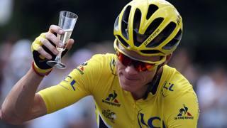 Tour de France, Froome ebbro di gioia