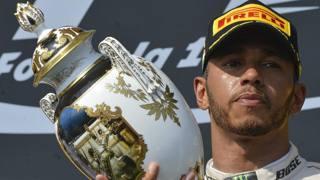 Il nuovo re d'Ungheria: Lewis Hamilton