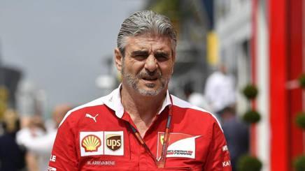 Il team principal Ferrari Maurizio Arrivabene , 59 anni. Lapresse