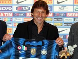 Leonardo, 46 anni, ai tempi della prima esperienza interista, nel 2010-11. Forte