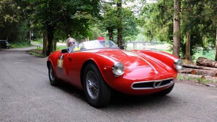 Arturo Merzario sull'Alfa Romeo Giulia TI Super del 1963