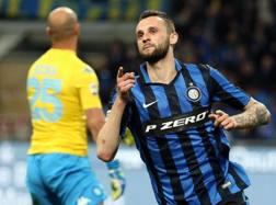 Marcelo Brozović, 23 anni. Ansa