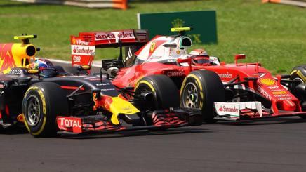 La Ferrari si � lamentata della guida di Verstappen contro Raikkonen. Lapresse
