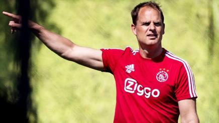 Frank de Boer, 46 anni. ANSA