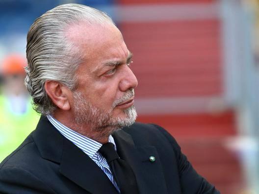 Aurelio De Laurentiis, presidente del Napoli. Gasport