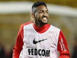 Fortuna Dos Santos Wallace, 21 anni, con la maglia del Monaco. Afp
