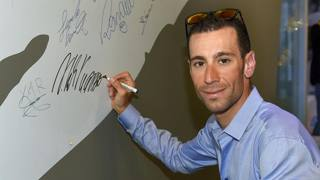 Vincenzo Nibali, 31 anni, in visita alla Gazzetta. Bozzani