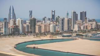 Una vista dello skyline di Manama