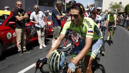 Alberto Contador, 33 anni, al Tour de France. Reuters