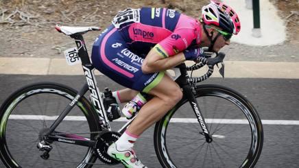 Marko Kump, 27 anni, in azione. Bettini