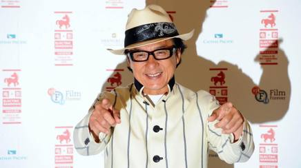 Jackie Chan, 62 anni. Getty Images