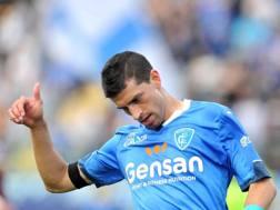 Manuel Pucciarelli, 25 anni, attaccante dell'Empoli. Lapresse