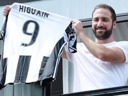Gonzalo Higuain, 28 anni, attaccante Juventus. ANSA