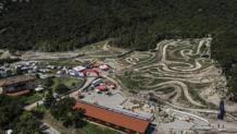 La pista di Pietramurata sede della Wall Extreme