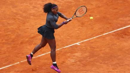 Serena Williams, 34 anni, numero 1 del mondo. Getty Images