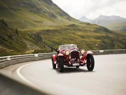 Una Alfa Romeo d'epoca