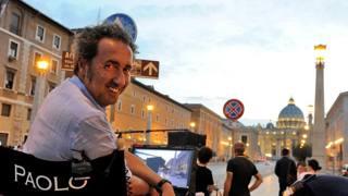 Paolo Sorrentino al Lido con