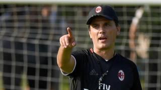 Vincenzo Montella, prima stagione sulla panchina del Milan. Ansa