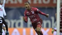 Abdou Diallo, difensore del Monaco, l'anno scorso in prestito allo Zulte Waregem