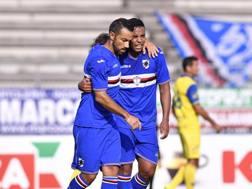 Fabio Quagliarella e Luis Muriel. Lapresse