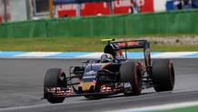 La Toro Rosso di Sainz: partir� 16� dopo la penalizzazione. Lapresse