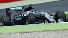 Nico Rosberg     in azione in Germania. Lapresse