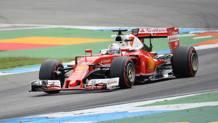 Sebastian Vettel, 29 anni, seconda stagione alla Ferrari. Afp