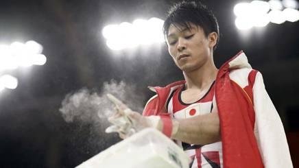 Kohei Uchimura, 27 anni, REUTERS