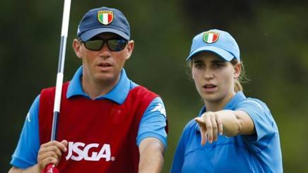 Virginia Elena Carta e il coach Roberto Zappa