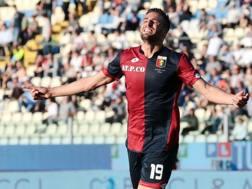 Leonardo Pavoletti, 28 anni. Ansa