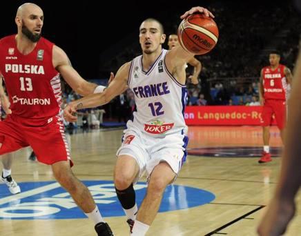 Nando De Colo, nazionale francese, play del Cska Mosca AFP