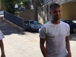 Moritz Leitner, 23 anni, fa le visite mediche con la Lazio