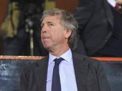 Enrico Preziosi, presidente del Genoa. Ansa