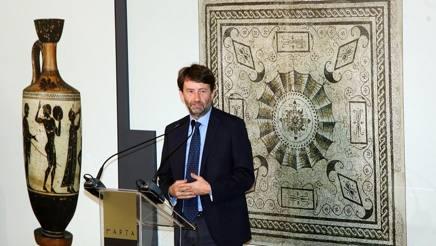 Il Ministro dei Beni Culturali Dario Franceschini, Ansa