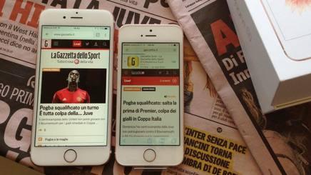 L'iPhone SE a confronto col modello di punta della Apple, l'iPhone 6S: i due telefoni hanno molte caratteristiche comuni. L'SE costa 609 euro