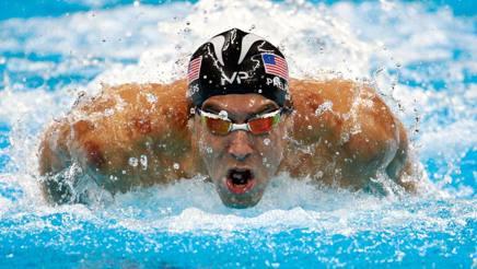Michael Phelps, 31 anni. Getty