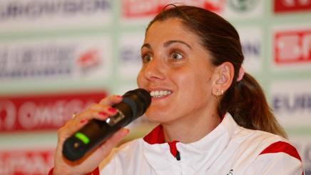 Silvia Danekova, 33 anni, atleta bulgara. Getty