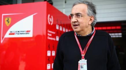 Sergio Marchionne, presidente della Ferrari. Getty
