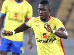 Il difensore angolano Bartolomeu Jacinto Quissanga detto Bastos, 24 anni