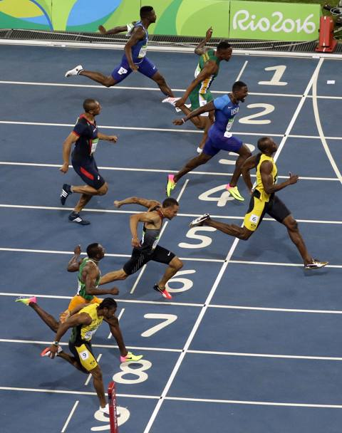 Bolt chiude in 9