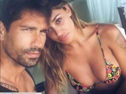 Marco Borriello, 34 anni, con Belen Rodriguez. Instagram