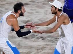 Paolo Nicolai (a sinistra) e Daniele Lupo a Rio. Ansa