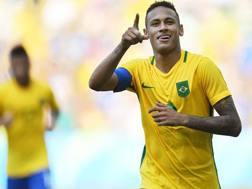 Neymar, 24 anni. Afp