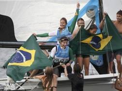 La festa del Brasile con Grael e Kunze: oro
