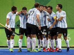 La festa dell'Argentina nell'hockey. Ap