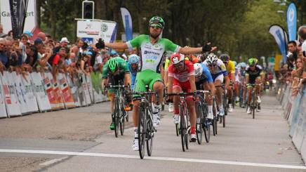 Sonny Colbrelli, 26 anni, vince la quarta frazione del Tour du Limousin