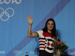 Yelena Isinbayeva. Ap