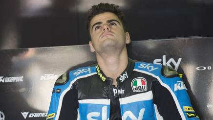 Romano Fenati, 20' anni, ex pilota del Team VR46. Getty